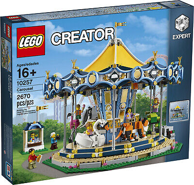 LEGO CREATOR - CAROUSEL  |  10257  |  SEALED BOX  | FREE SHIP  |  AFOL | RETIRED