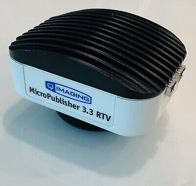 Qimaging Micropublisher 3.3mp Rtv 10 Bit Color Ccd Real Time Microscope Camera
