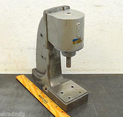 Mead-usa Ap-42 Bench Press 14 Ton Clicker Press Pneumatic Air Press 012