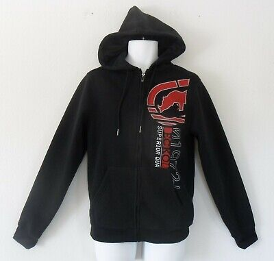 Ecko Unltd Unlimited Deboss Logo FULL ZIP HOODY Jacket Sweat Shirt Top~Mens sz L Ecko Unltd Hoody Zip Sweatshirt