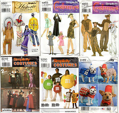 Dr Who Dog Costume (CHOICE: SIMPLICITY COSTUMES Sewing Patterns Misses' Men's Unisex Dog Doctor)