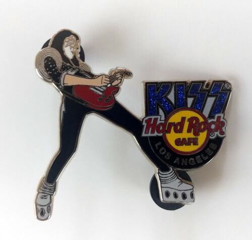 KISS Band Hard Rock Café Pin Badge ACE FREHLEY Alive Tour Los Angeles LE 500