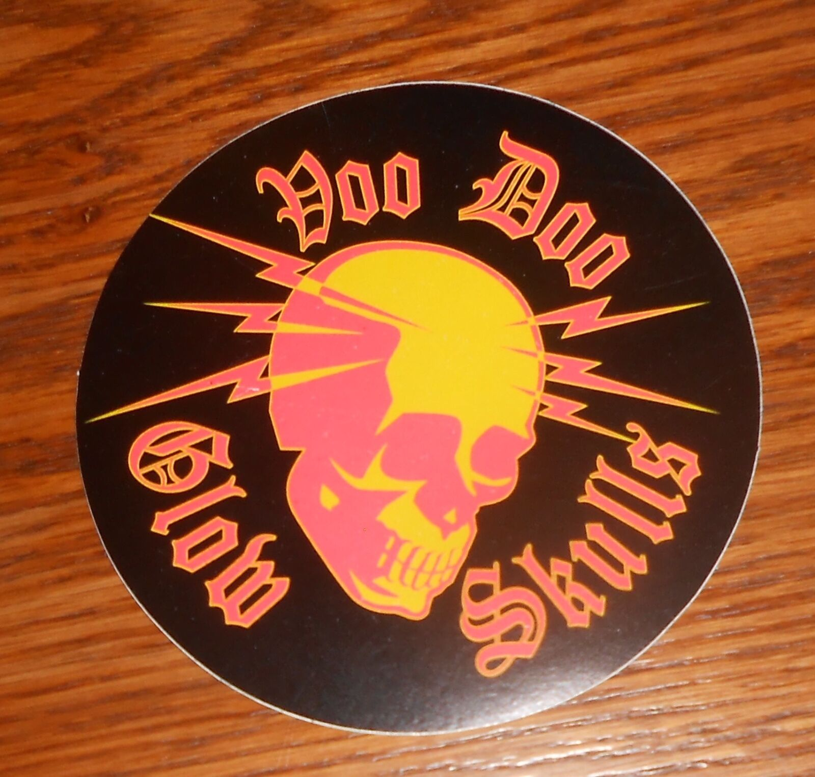 Voodoo Glow Skulls The Band Geek Mafia Sticker Decal Circle Promo 4  - $17.95