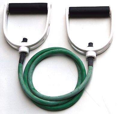 Light Resistance Tubing with Premium Handles, Fitness Resistance Band - (Premium Fitness Tube)
