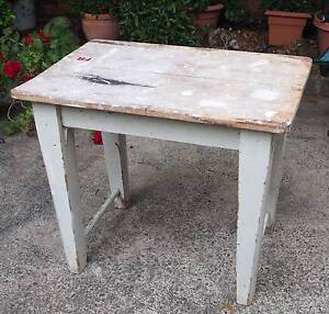 Old Wooden Table Beverley Park Kogarah Area Preview