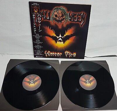 Halloween Horror Fire 2 LP Vinyl Record (Halloween 2 Vinyl)