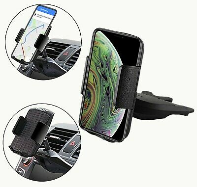 Universal Car CD Slot Mount GPS Phone Holder for iPhone, Samsung, LG Devices Gps Device Holder