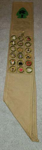 Merit Badge Sash Lot 7 Camp Ranachqua Camper Boy Scouts BSA Bronx GNYC TMR