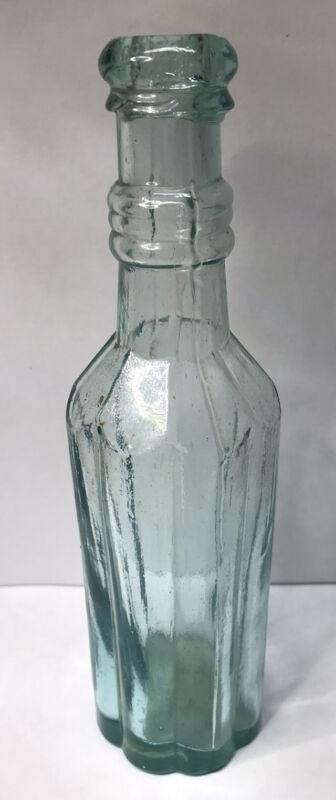 Peppersauce 8 Inch 1870s Aqua