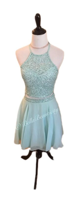 B. Darlin Dillards Prom/Homecoming 2 Piece Dress 1-2