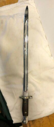 Vintage 1907 British Enfield (Wilkinson) Sword Bayonet