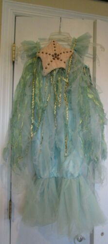 Pottery Barn Kids Halloween Costume Mermaid  4 6  New
