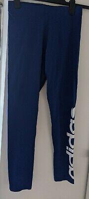 Blue Adidas Leggings size 12-14