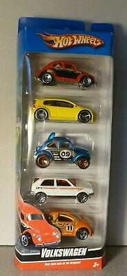 NEW Hot Wheels VOLKSWAGEN 5 Pack