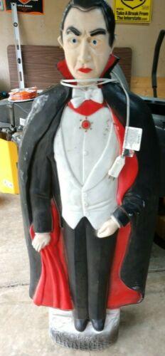 Bela Lugosi Dracula 42 Inch Halloween Blow Mold Union Products