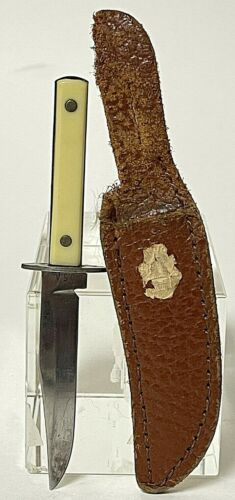 Vintage Souvenir Miniature Knife From Washington D.C. With Sheath