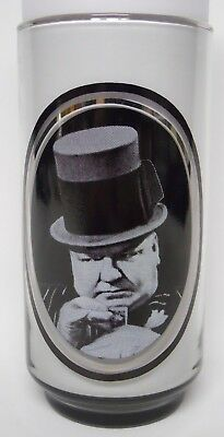 VINTAGE! 1979 Arby's Actor Series Glass-WC Fields