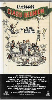 ABC VIDEO National Lampoon's CLASS REUNION, 1982 FILM, USED VHS - Halloween Vhs Box Set