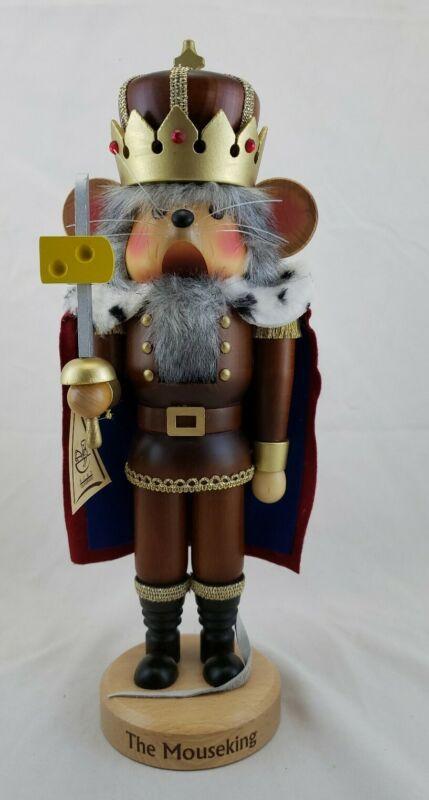 SEIFFENER CHRISTIAN ULBRICHT MOUSE KING NUTCRACKER - GERMAN- EXCELLENT CONDITION
