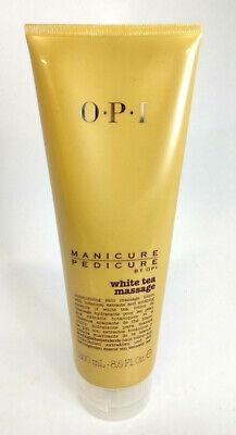 OPI Manicure Pedicure White Tea Massage 8.5 oz New Free Shipping