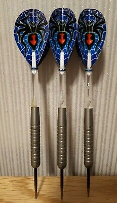 Set of Tungsten Darts 24g - length 14 cms - with flights & stems