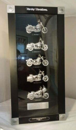Harley Davidson 2008 Motorcycles In The 1990s Shadow Box Dealer Display AZ