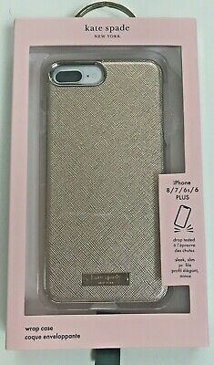 Kate Spade Wrap Case For iPhone 8 Plus iPhone 7/6/6s Plus Saffiano Rose Gold
