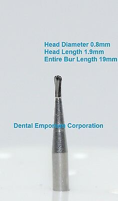 Dental Carbide Burs Fg 330 Pear For High Speed Handpiece 10 Per Package