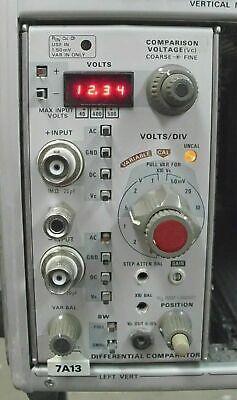Tektronix 7a13 Differential Comparator Plug In Module