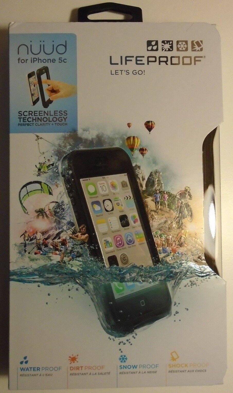 LifeProof Nuud Waterproof Military Grade Case iPhone 5C Blac