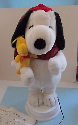 Peanuts United Feature Syndicate Snoopy Santa's Best Holiday Animation 1997
