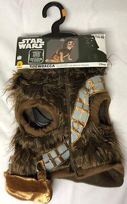 Disney Star Wars Chewbacca Dog Costume Set - Size MEDIUM (Chewbacca Dog Costume)