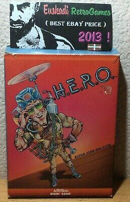 H.E.R.O  // Activision ATARI 2600 // Completo - 1984 // Versión Europea, usado comprar usado  Enviando para Brazil
