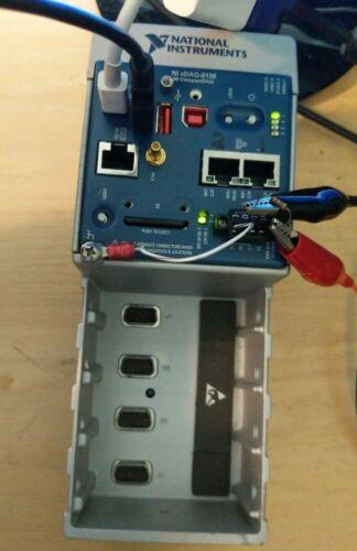 National Instruments cDAQ-9136 DAS 4 slot chassis Windows Embedded 7 Standard