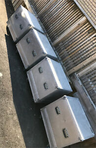 Aluminum zarges shipping/storage cases