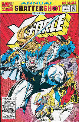 X-Force Annual # 1 (68 pages) (USA, 1992)