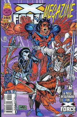 X-Force Megazine # 1 (100 pages, rerpints 1st Deadpool etc) (USA, 1996)