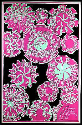 Quicksilver Messenger Service Poster Sacramento Sound Factory Grand Opening 1968
