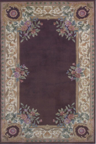 """1:12 or 1"""" Scale Dollhouse Miniature Area Rug Approx. 7"""" x 10-1/2"""" - 0001313"""