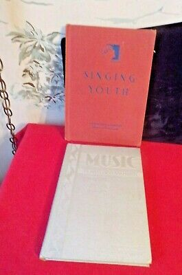 2 Vintage 1930's Song Music Books
