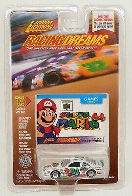 Johnny Lightning Super Mario Nintendo 64 Paint Scheme Stock Car MOC 1/64 Scale ()