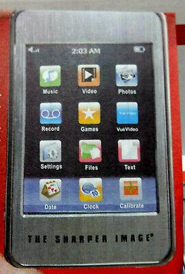 THE SHARPER IMAGE TOUCH MP4 MP3 PLAYER Audio Video F3428971 COMPLETE NEW IN BOX, usado comprar usado  Enviando para Brazil