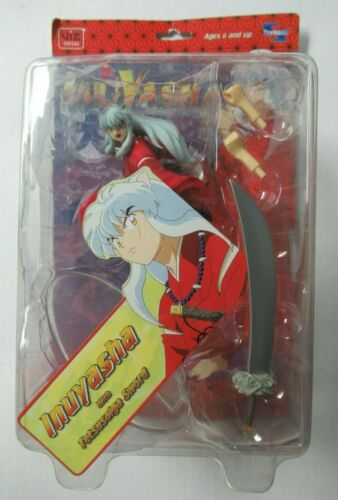 2006 Toynami Inuyasha With Tetsusaiga Sword and Interchangeable Hands