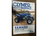 YFM80 Raptor CLYMER Repair Manual for Yamaha YFM80 Moto-4 YFM80 Badger