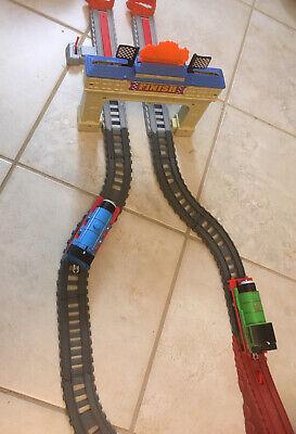 Fisher Price Thomas & Friends TrackMaster Battery Thomas Percy Railway Race Set