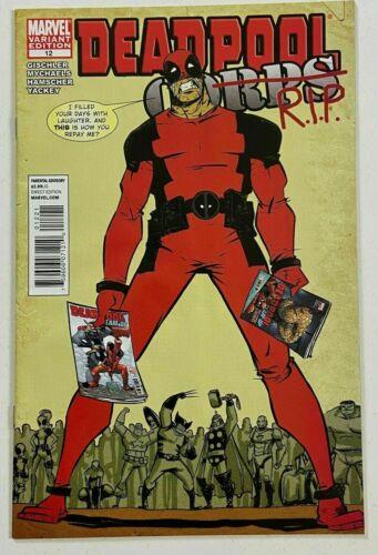 Deadpool Corps  #12   Variant Last Issue  Marvel 2011 VF/NM