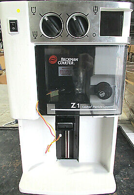 Beckman Coulter Z1 Particle Counter For Parts Repair