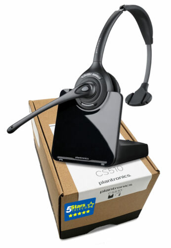 Plantronics CS510 Wireless Headset (84691-01) - Brand New, 1 Year Warranty