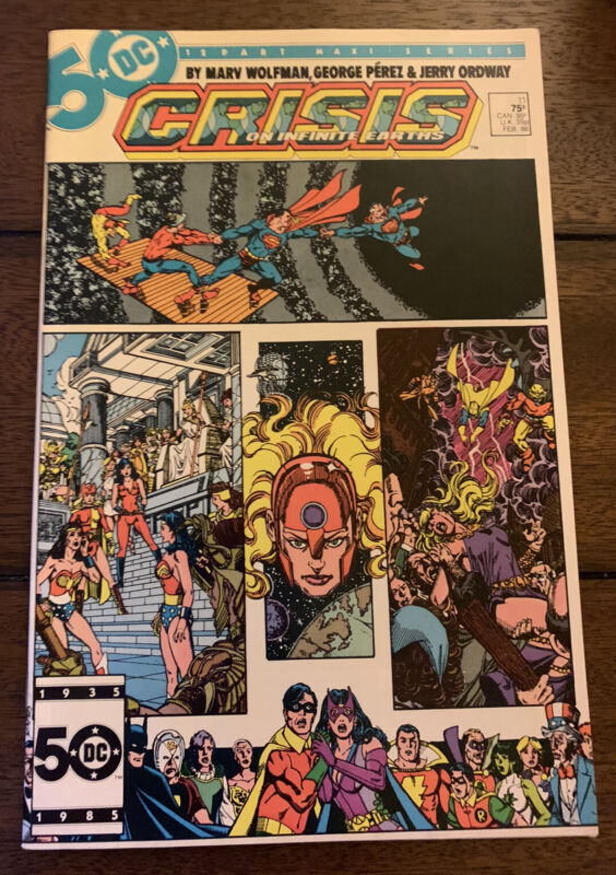DC Comics Crisis on Infinite Earths #11 February 1986