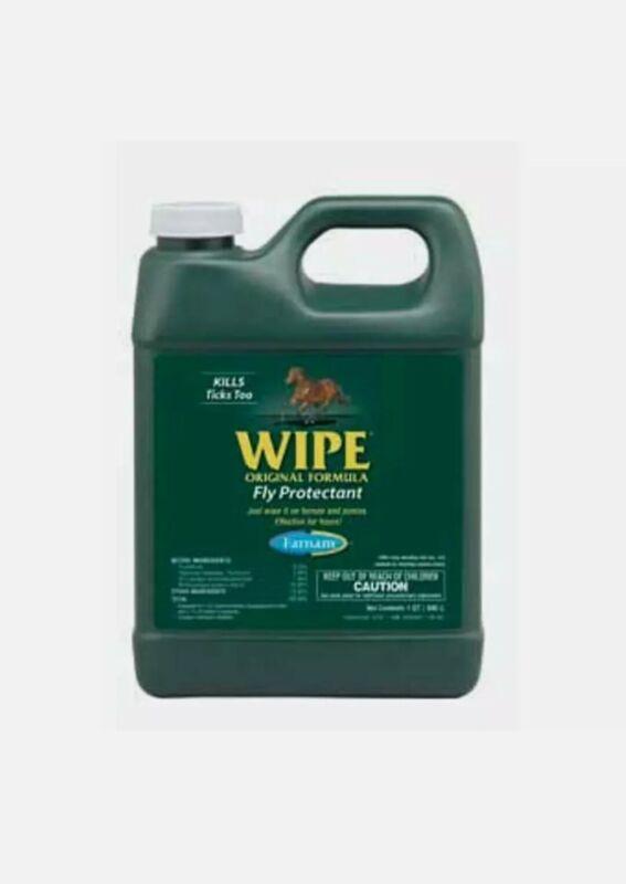 Farnam Wipe Fly & Ticks Protectant Original formula 1qt